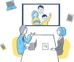 大分不動産情報サービス|オンラインミーティング