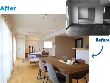 大分不動産情報サービス【OSUMU】|中古住宅リノベーションビフォーアフター2|オースムリノベ