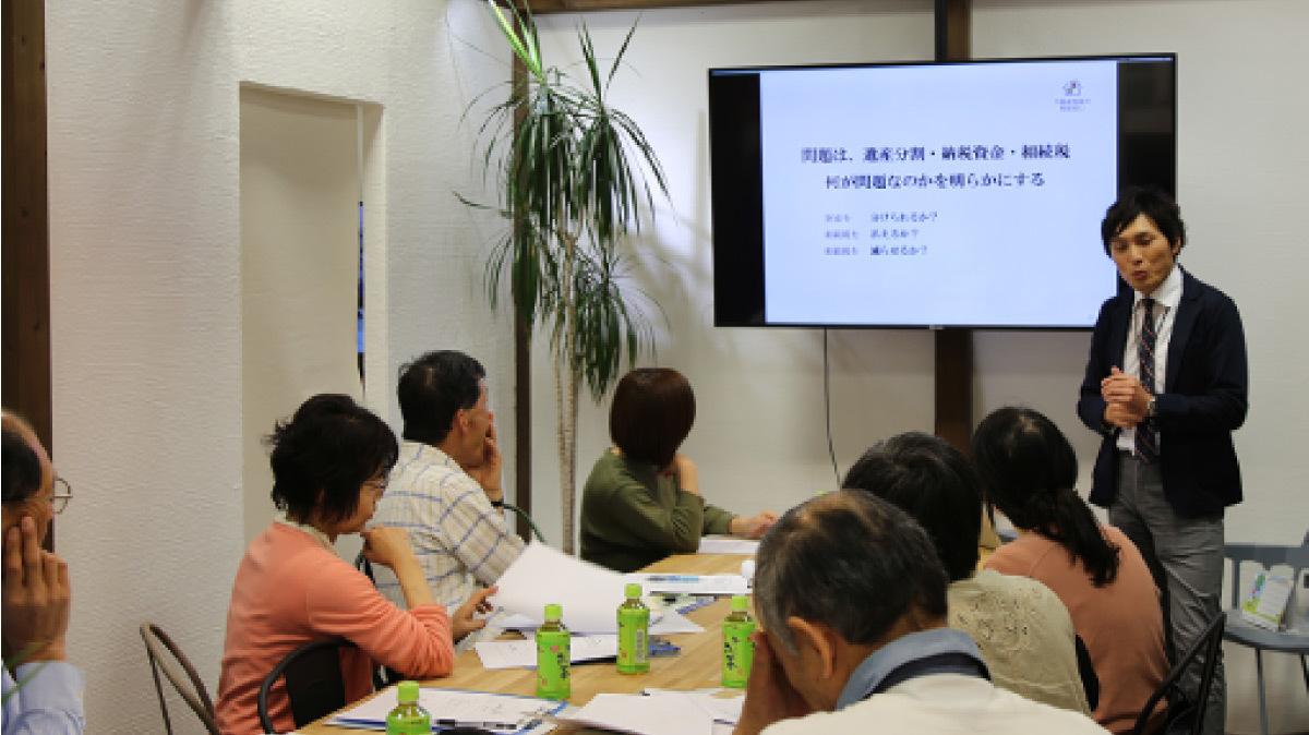 SAKAI株式会社が毎月開催している家づくりに関する勉強会の様子