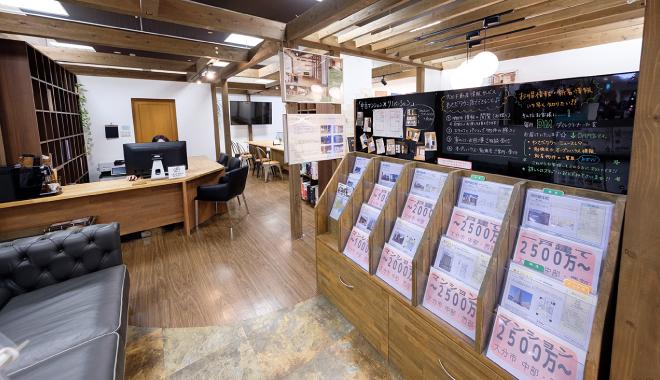 【osumu オースム】大分不動産情報サービス わさだタウン店|トキハわさだタウン内 店内の様子