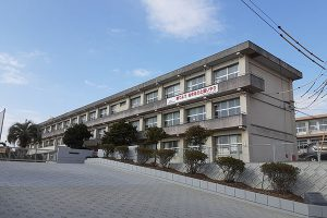 大分市大字小池原 新築建売 周辺地域 明野中学校 校舎