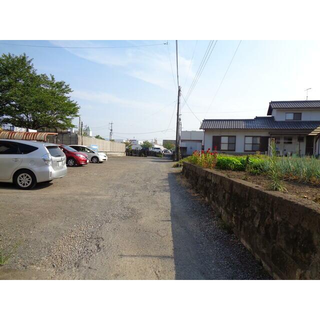 大分市森町土地写真 前面道路