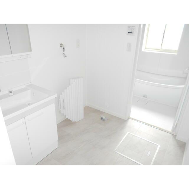 大分市 富士見が丘西2丁目中古住宅一戸建て洗面化粧室
