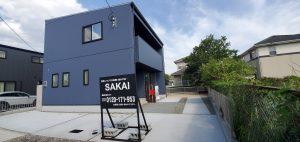 大分不動産情報サービス SAKAI株式会社 ブルーのLIFEBOXの外観