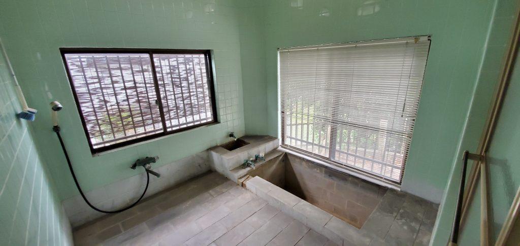 別府市大畑 平屋の中古住宅の浴室|大分不動産情報サービス