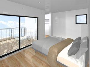 大分市上宗方新築建売 寝室