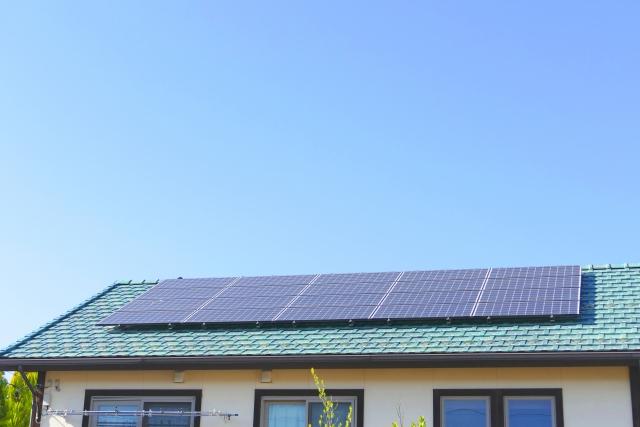 建売住宅と太陽光発電システム