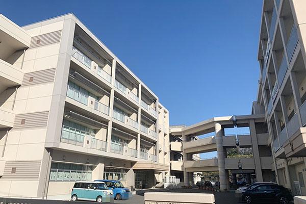 大分市横田 周辺環境 大在中学校