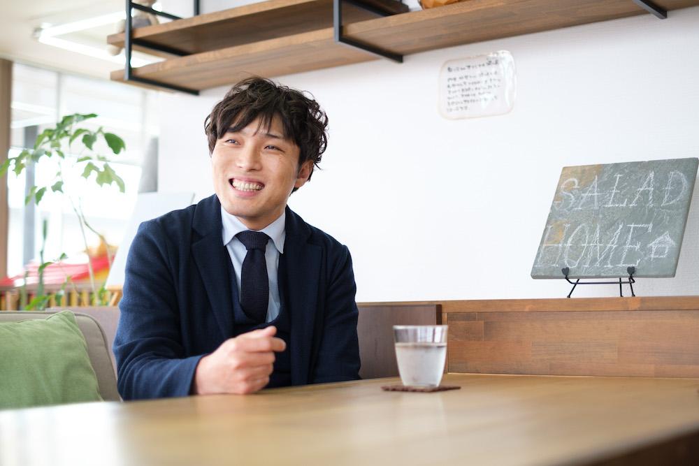 SAKAI株式会社 代表の臼井 栄仁