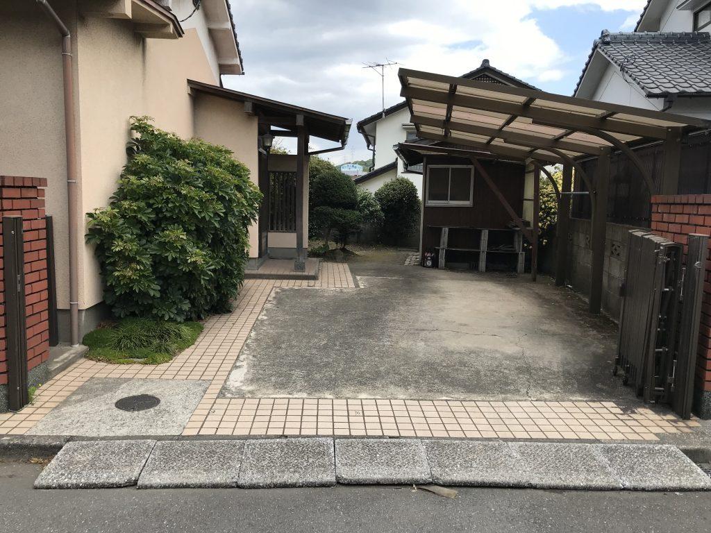 スタッフブログ|大分市長谷町平屋不動産物件 駐車スペース
