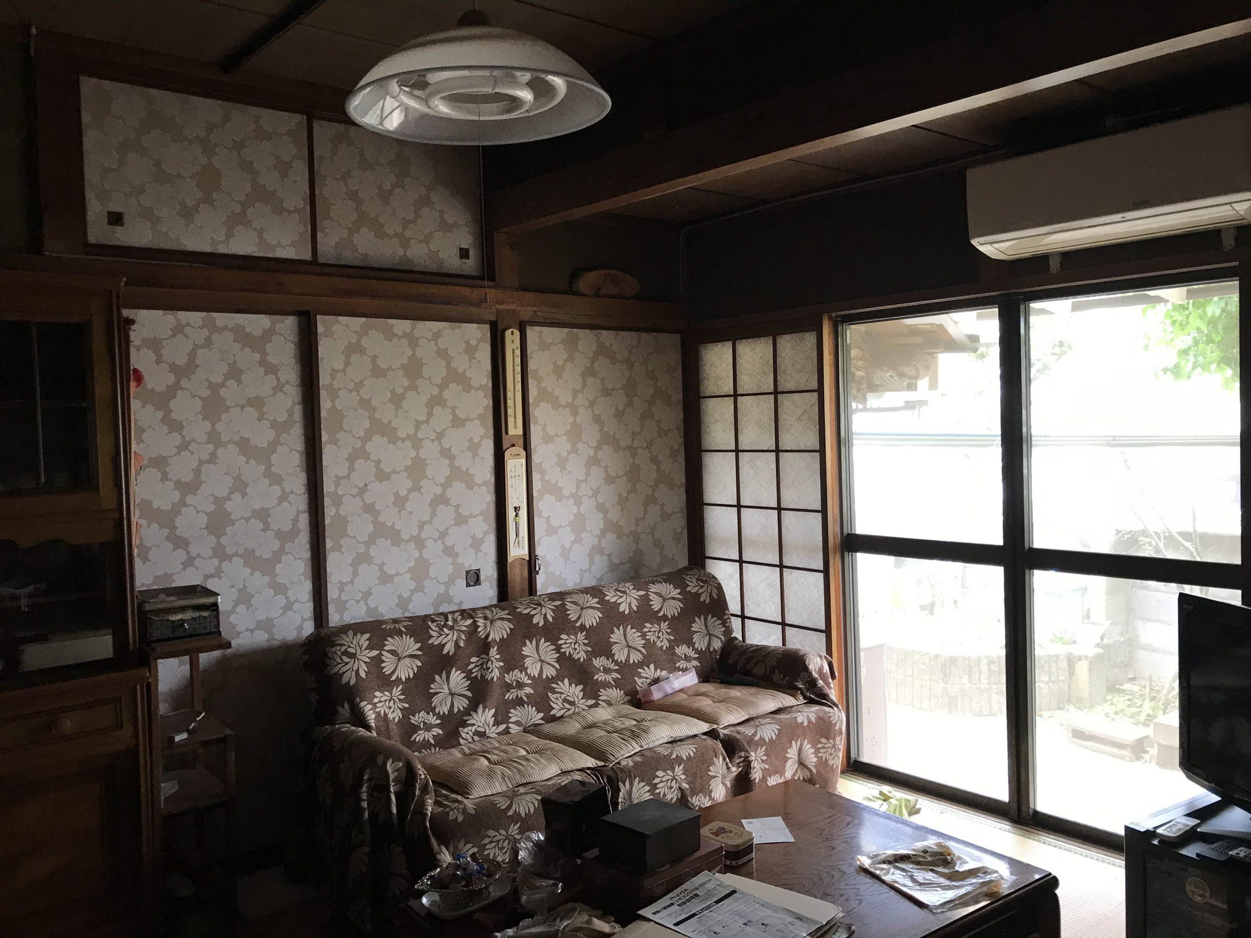 大分市竹の上 中古住宅 室内・和室2 大分不動産情報サービス