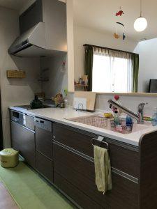 大分市木上 中古住宅(カームタウン木の上)キッチン