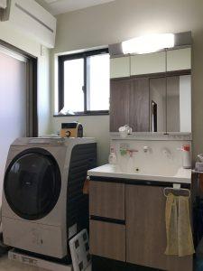 大分市木上 中古住宅(カームタウン木の上)洗面脱衣室