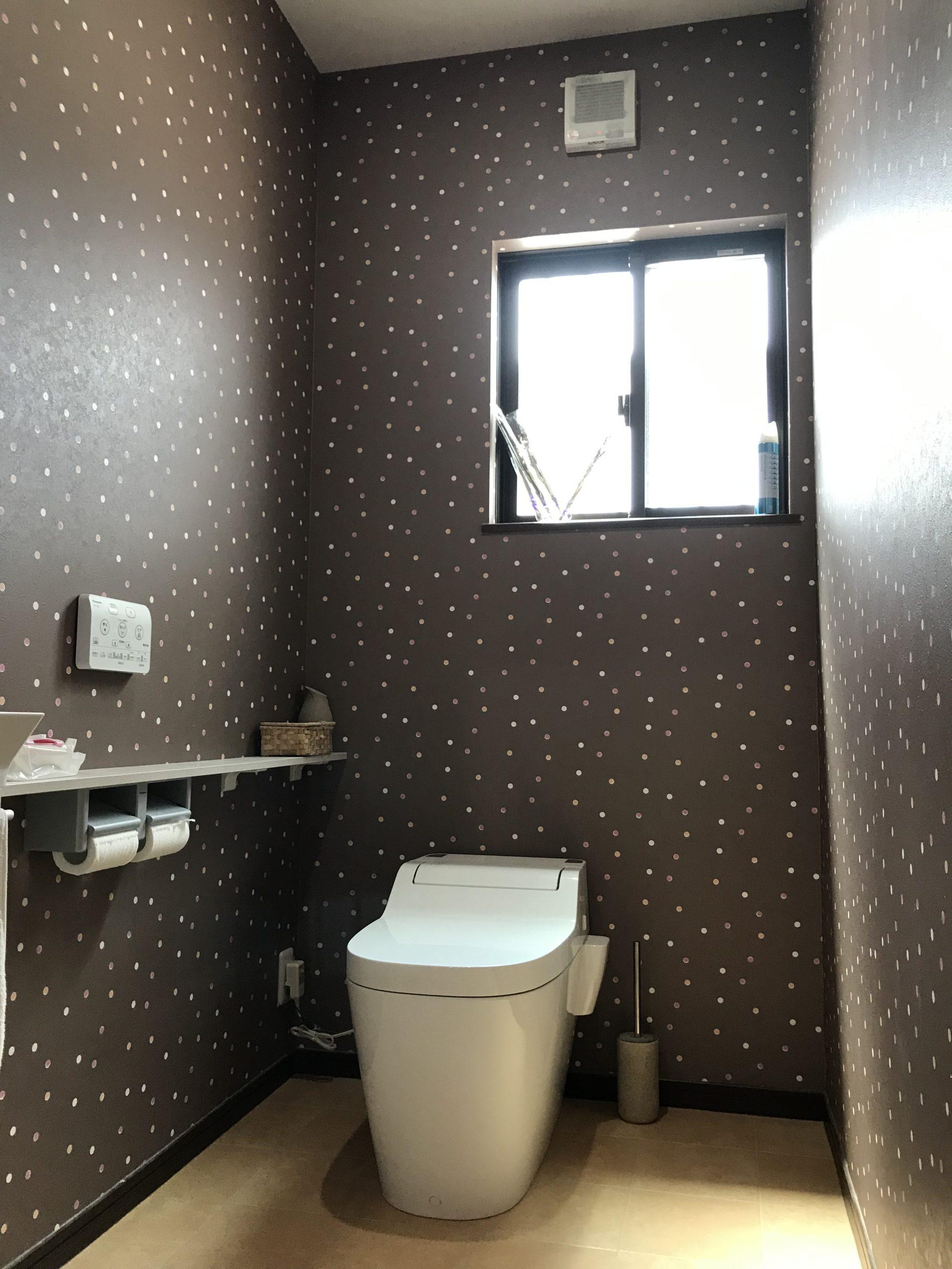 大分市木上 中古住宅(カームタウン木の上)トイレ