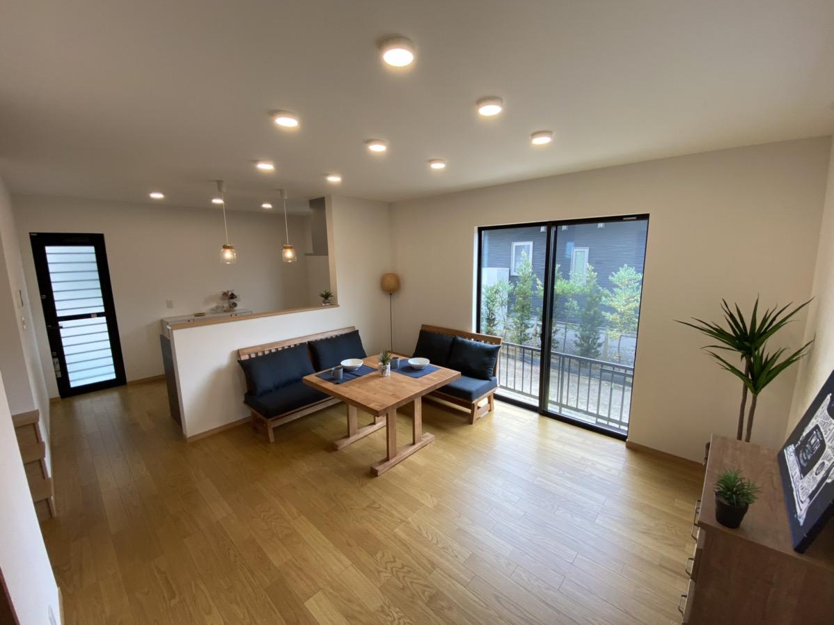 大分市片島新築物件「SAKAIの家」LDK|大分不動産情報サービス
