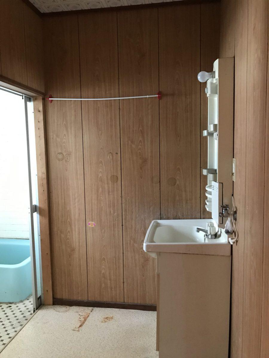 由布市挾間町 中古住宅 内観洗面脱衣室
