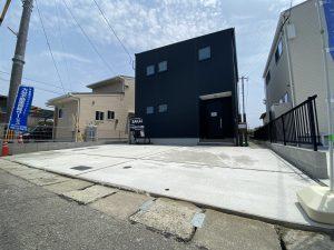 大分市片島の新築建売住宅の外観