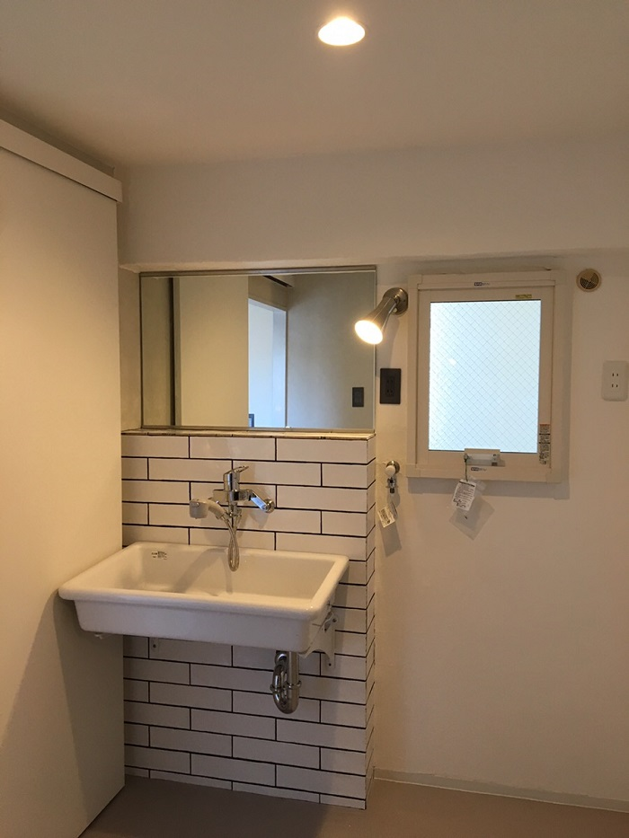ワンストップリノベーション 洗面室