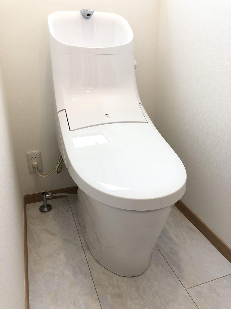 大分不動産情報サービススタッフブログ|坂井建設新築標準のトイレ