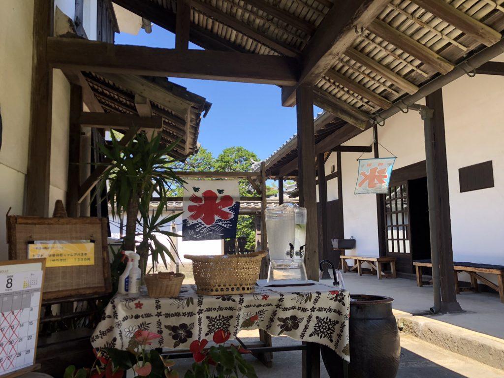 臼杵のcafe凡と凛のお店入口