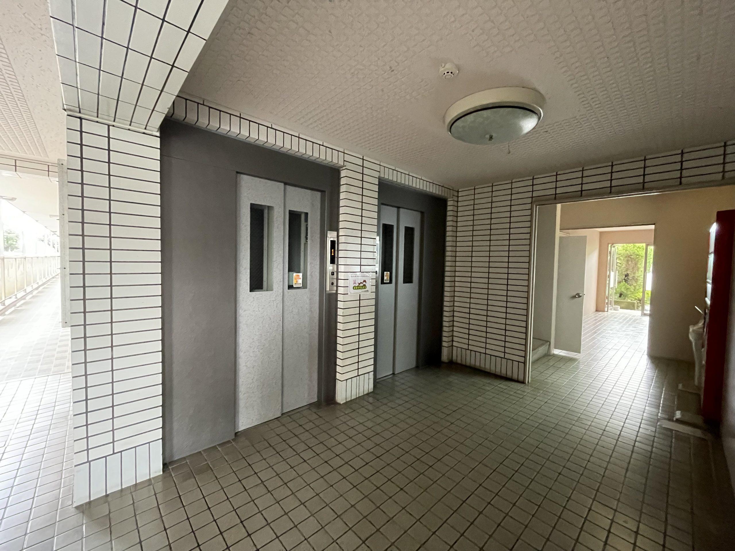 エレベーター2基 大分市上田町(南大分駅)サンライズ豊府 中古マンション