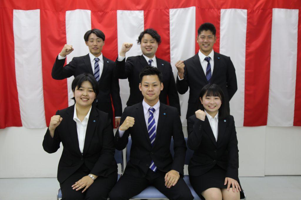 2021年SAKAIの新入社員6名