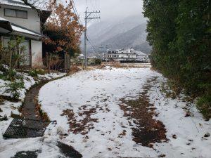 湯布院の雪景色1