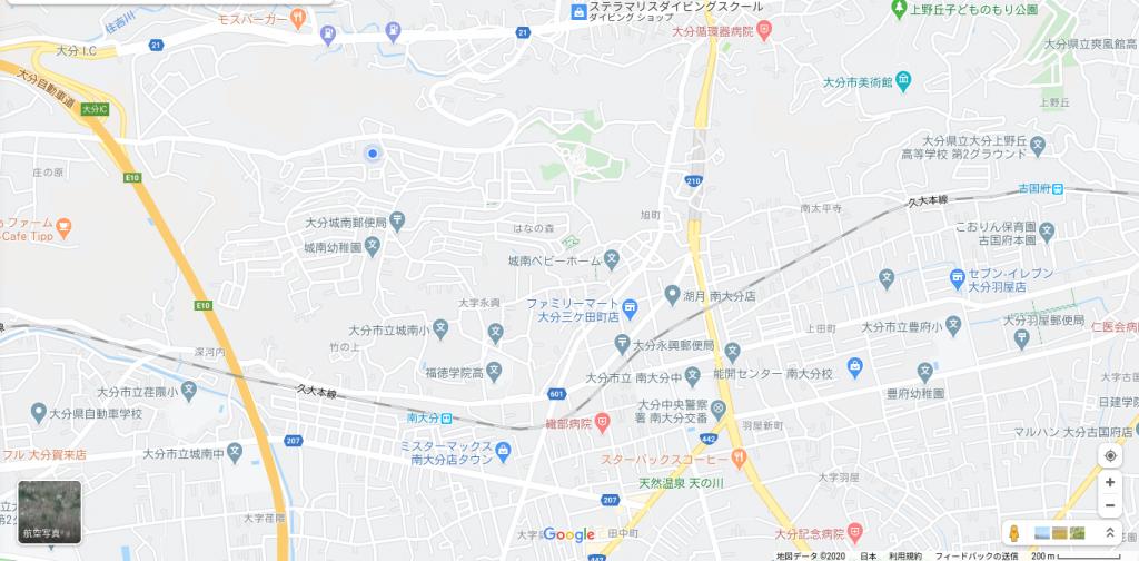 大分不動産情報サービススタッフブログ|大分市永興(城南)周辺のマップ