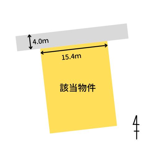 大分市富士見ヶ丘土地 図面