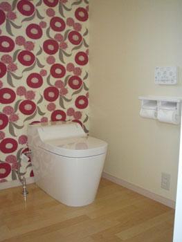 大分市で中古住宅購入とリフォームをご依頼のお客様N様との対談 トイレ 大分不動産情報サービス お客様の声