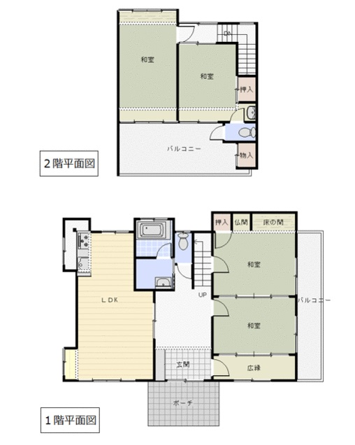 大分市千歳高城団地 中古住宅|間取り|【OSUMU】大分不動産情報サービス