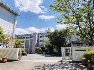 大分市 周辺環境 稙田西中学校
