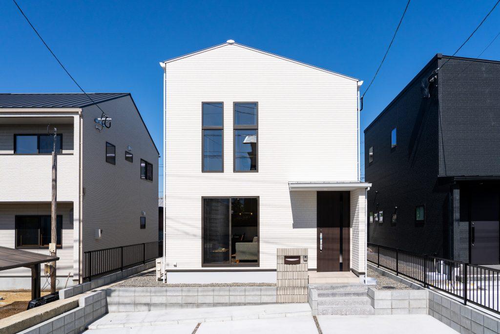 建売住宅は人の出入りが多い。
